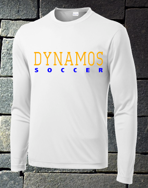 U14 Gold Soccer Long sleeve dri fit - option 2