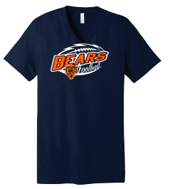 Bears Football - Front only - tees, drifit and tanks