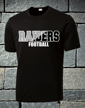 Raiders Football - two color raiders - mens