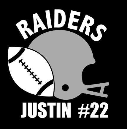 Raiders Car Decal