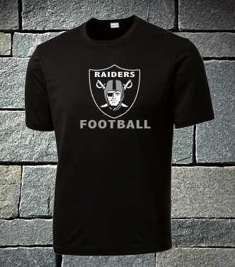 Raiders JV Football 2019 Roster Shirt