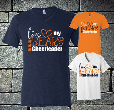 Love My Bears Cheerleader