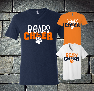 Bears Cheer with paw