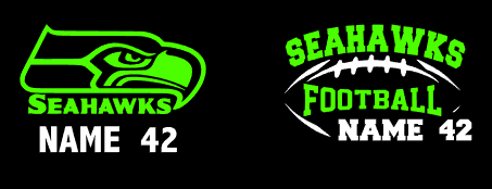 Seahawks Car Decal