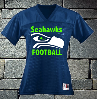 Seahawks toddlers and youth football jersey
