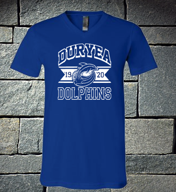 Duryea Dolphins Royal Blue