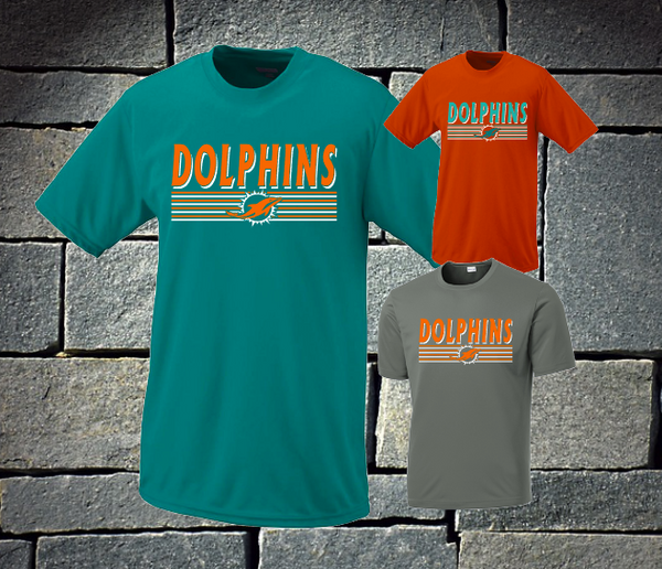Dolphins with lines