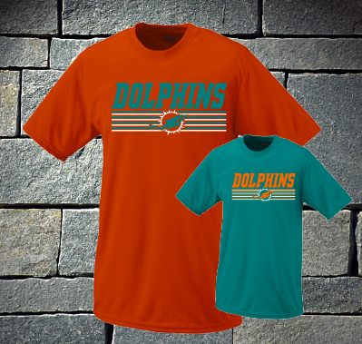 Dolphins with lines - Mens