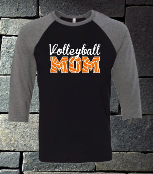 Salyards Volleyball 3/4 sleeve raglan