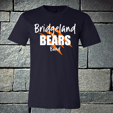 Bridgeland Bears Band with claws