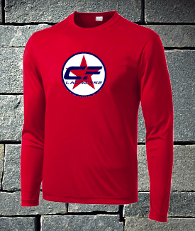 Sport Tek Long Sleeve Dri Fit - Ironmen Lacrosse Circle
