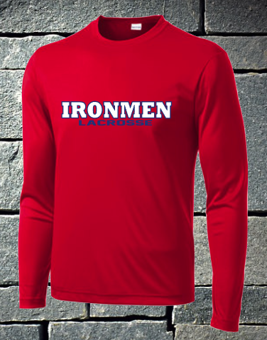 Sport Tek Long Sleeve Dri Fit - Ironmen Lacrosse