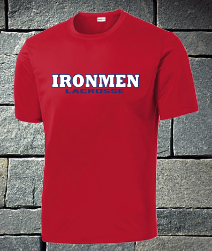 Sport Tek Short Sleeve Dri Fit - Ironmen Lacrosse
