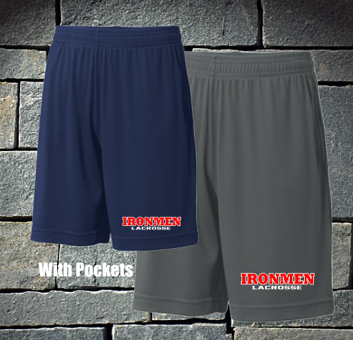 Sport tek shorts with pockets - logo - runs big