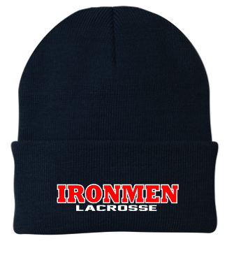 Solid Color Ironmen Lacrosee Beanie
