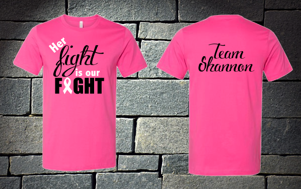Her fight is our fight - Team Shannon
