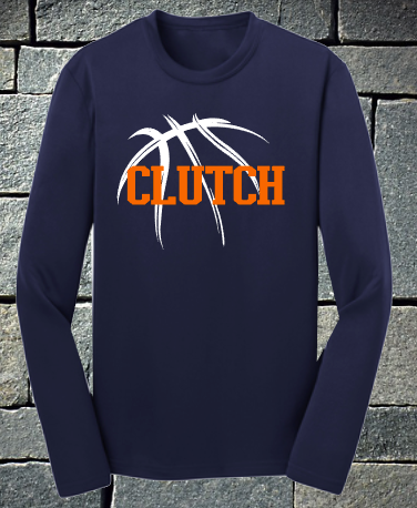 Clutch Basketball Shooter shirt - navy