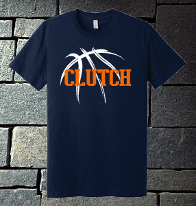 Clutch Basketball shirt - navy
