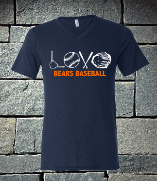 Love Shapes Bridgeland Bears Baseball