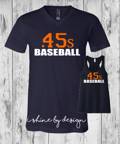 .45s Baseball ladies
