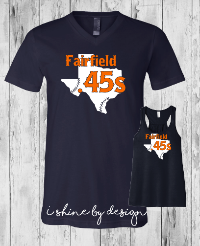 .45s Baseball State of Texas - ladies