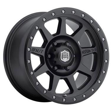 Mickey Thompson 17x9 with 5 on 5 Bolt Pattern Deegan 38 Pro 4 Black