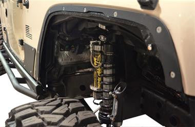 Ace Engineering Fender Delete Kit - Bare Steel Fits 2007 to 2016 JK and JKU Wranglers