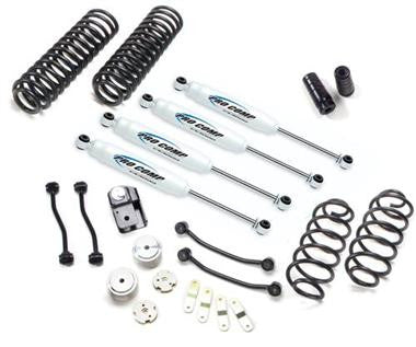 "Procomp 4"" Stage 1 Lift Kit With ES9000 Shocks Fits 2007 to 2014 JK Wrangler, Rubicon and Unlimited"