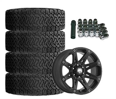 BFGoodrich All-Terrain T/A KO2 35x12.50R17 & Trail Master TM210 17x9 Wheel Package-Set of 4