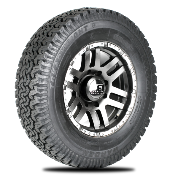 Warden 265x70xR17/C Remold All Terrain Tire