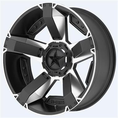 XD-Series XD811 Rockstar II, 17x9 with 5 on 5 Bolt Pattern - Machined Face with Black Accents