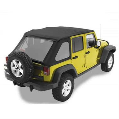 Bestop 52823-35 REPLACE-A-TOP TREKTOP NX 2007 to 2016 Jeep JKU & Rubicon