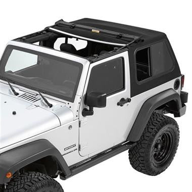 Bestop Trektop Pro Hybrid Soft Top BST54852-17 Fits 2007 to 2016 JK Wrangler and Rubicon