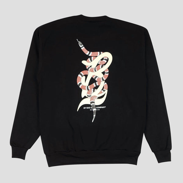 "BAD NEWS ENVY ""B"" CREWNECK SWEATER - Bad News Company"