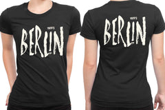 1920 Berlin 2 Sided Womens T Shirt