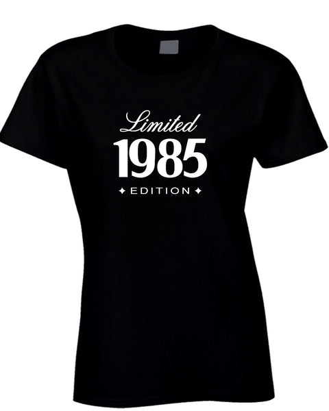 1985 Limited Edition 30Th Birthday Gift For Him Her Womens T Shirt