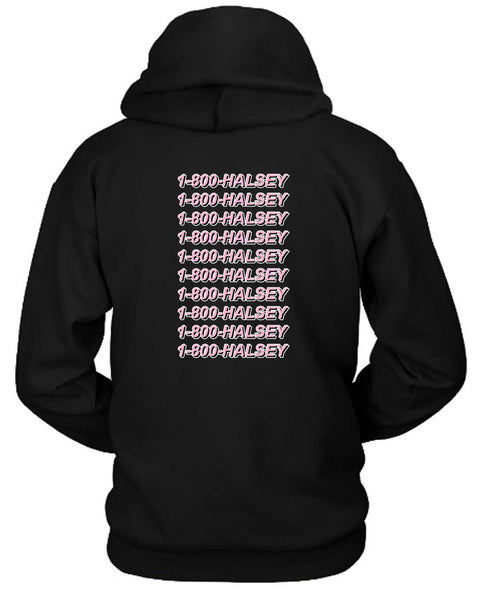 1 800 Halsey Hoodie Two Sided