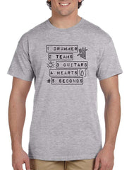 1 Drummer 2 Team 5 Sos T Shirt