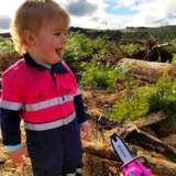 Baby Hi Vis Overalls (Aussie Kids At Work)