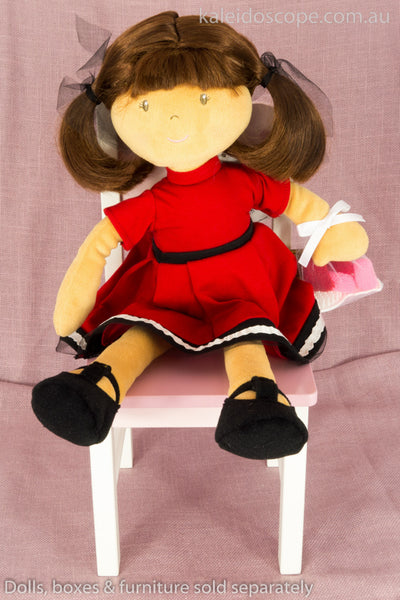 Malih Lockette Doll with Red Dress by Bonikka