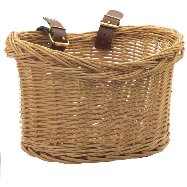 Woven Wicker Trybike Basket for Steel Bike
