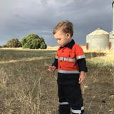 Kids Hi-Vis Shirts (Aussie Kids at work)