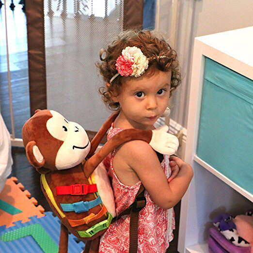 Big Mickey Busy Monkey Backpack