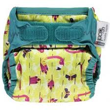 Pop-in New Gen V2 Single Printed Nappy +bamboo NEW