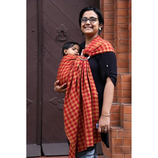 HANDWOVEN COTTON RING SLING