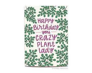 Hennel Paper Co. - Plant Lady Birthday Card