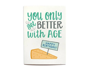 Hennel Paper Co. - Cheese Birthday Card