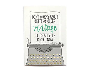 Hennel Paper Co. - Vintage Birthday Card