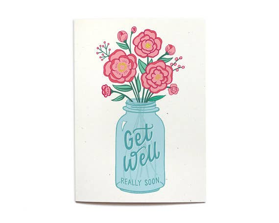 Hennel Paper Co. - Get Well Really Soon Card
