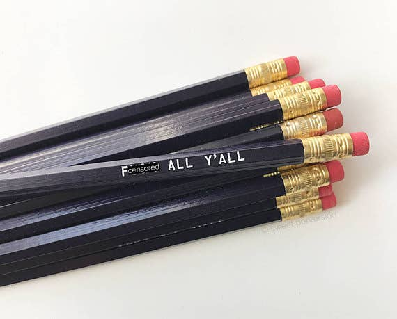 Sweet Perversion - F*ck All Y'all Pencil Set